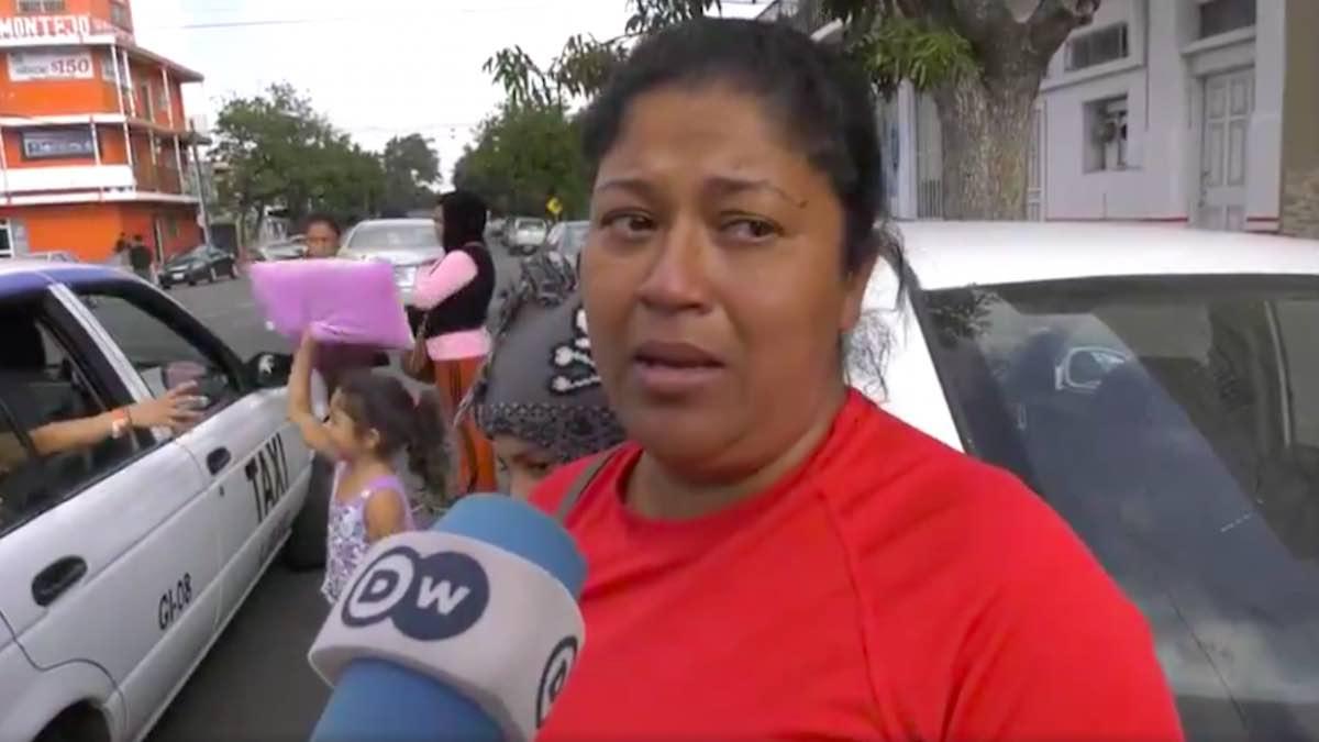Mil disculpas a los mexicanos, dice migrante que rechazó frijoles