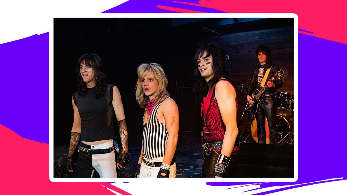 Así se ven los músicos de Mötley Crüe en 'The Dirt', y así en la vida real