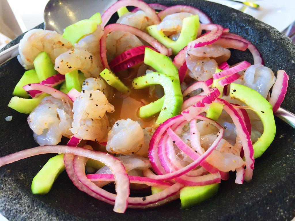#TeFaltaBarrio y darte (gusto) con el camarón de estos aguachiles de CDMX