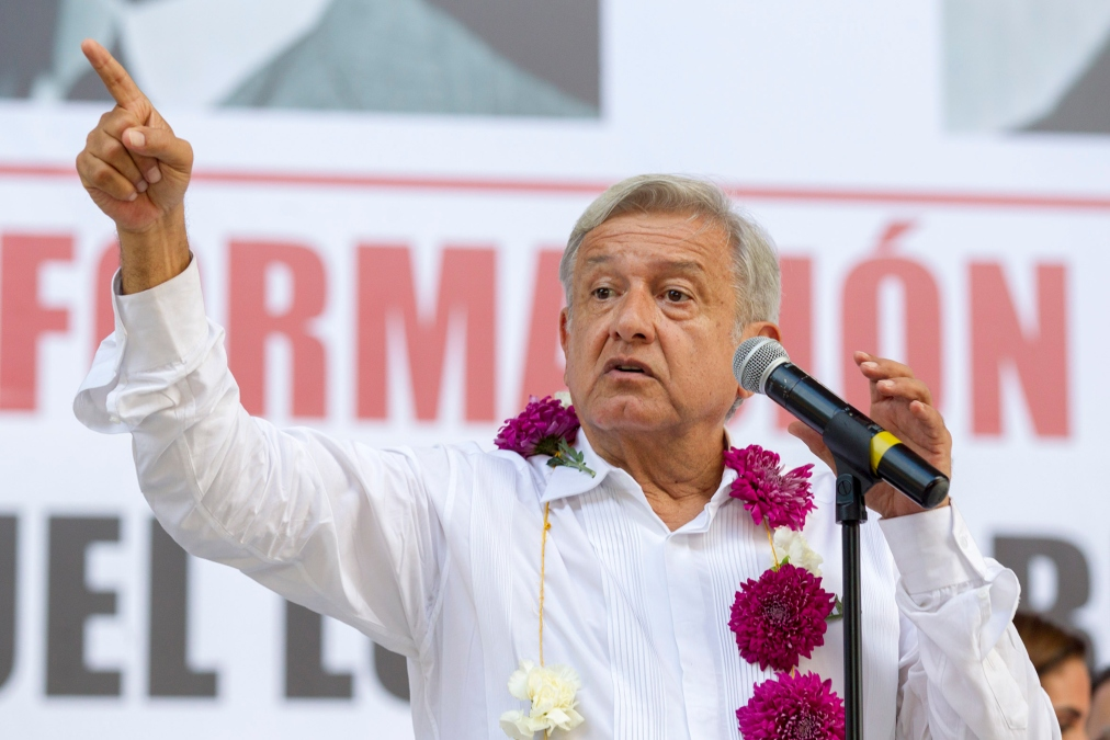 AMLO dividirá al país en 265 regiones de seguridad