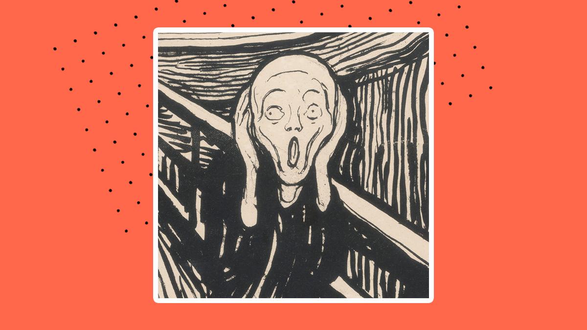'El Grito', de Edvard Munch, en realidad no está gritando 😱