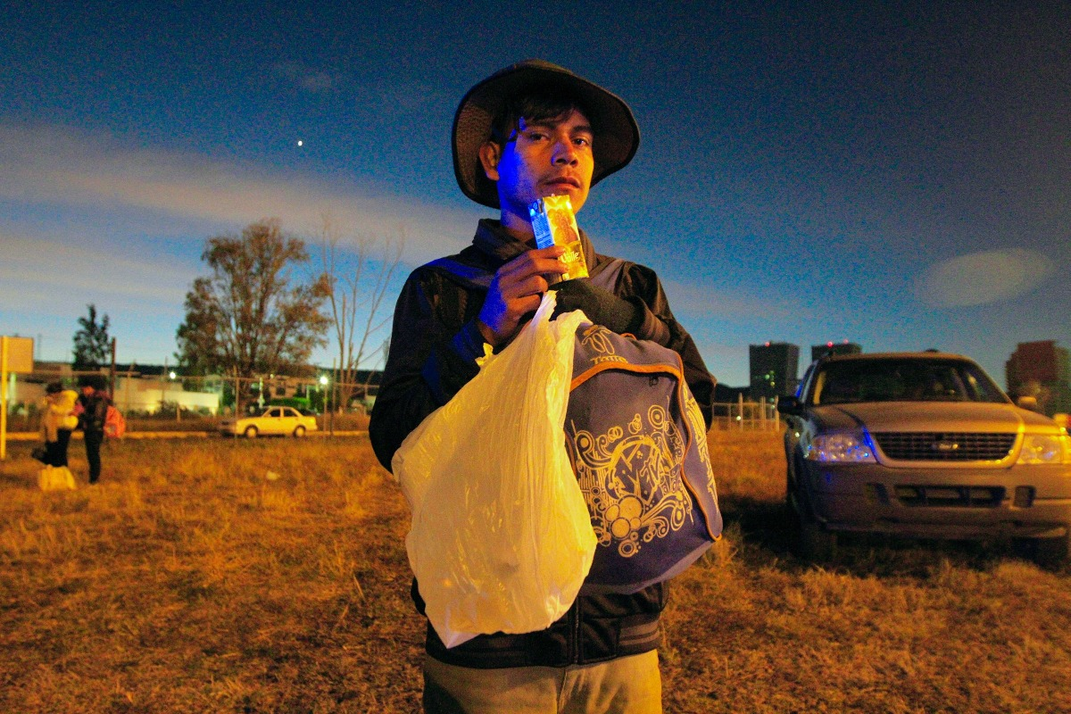 Caravana Migrante sigue su camino hacia Tijuana