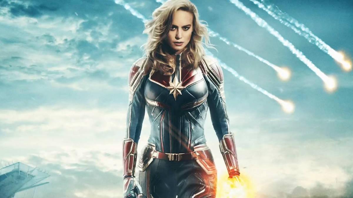 La fuerza de 'Captain Marvel' se manifiesta en su primer tráiler